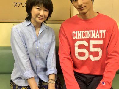 夏川結衣「中学聖日記」の衣装